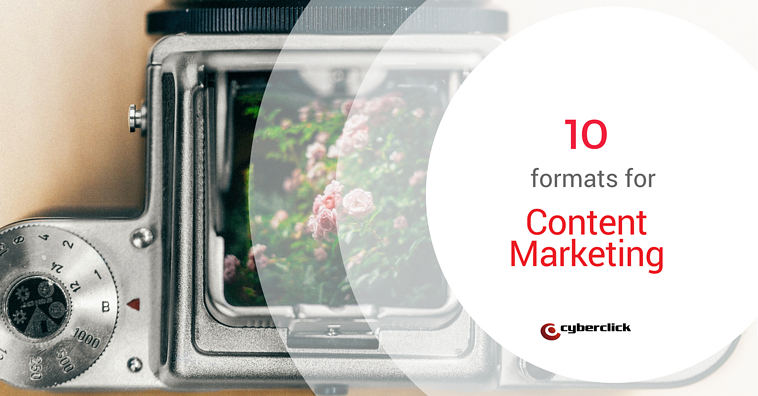 Content marketing: 10 content types that attract users