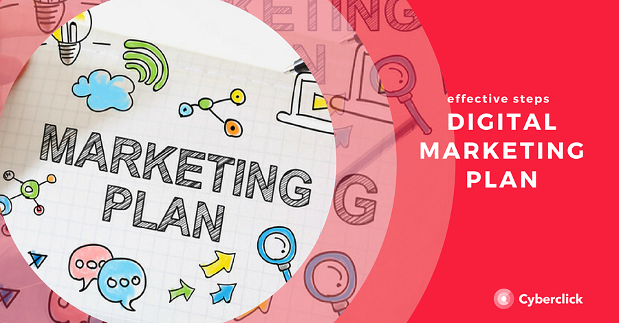 Effective steps digital marketing plan