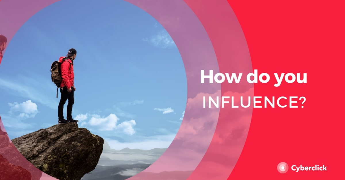 Influence with content marketing