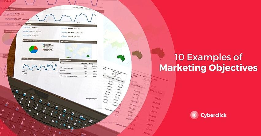 10 Examples of Marketing Objectives