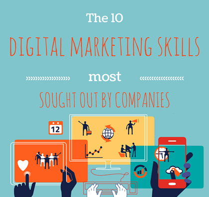 The 10 digital marketing skills most sought by companies