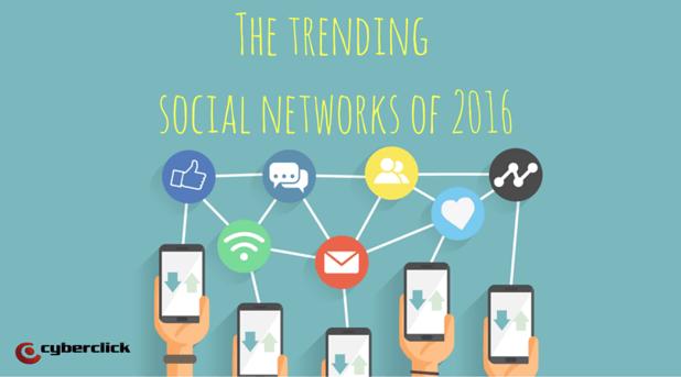The_trending_social_networks_of_2016