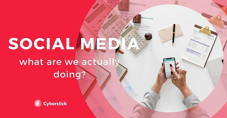 What are we actually doing on social media?