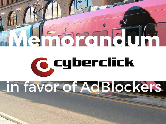 Digital Advertising: Cyberclick's Memorandum in favor of AdBlockers