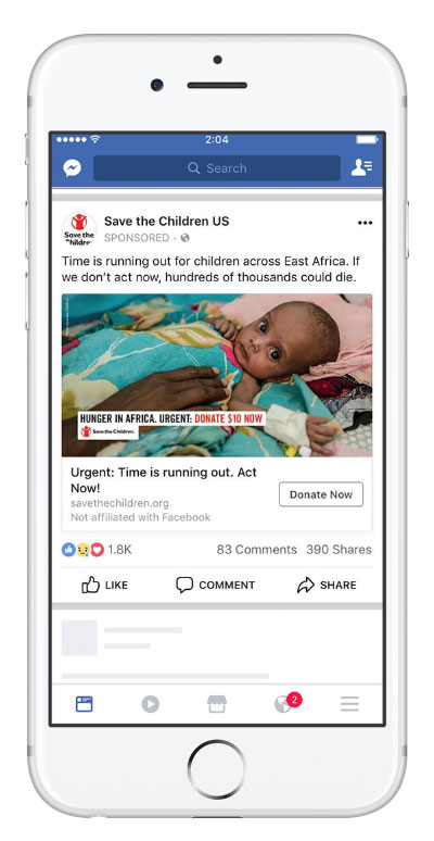 20 Creative and Powerful Facebook Ad Examples