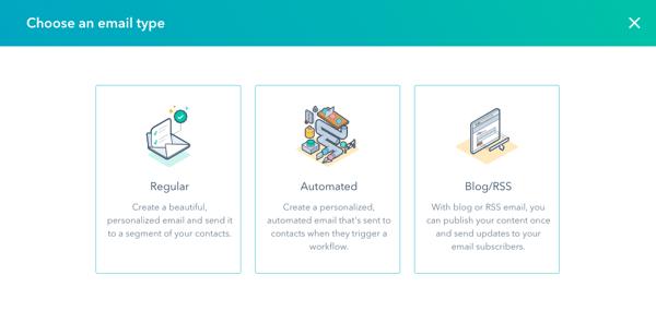 HubSpot Marketing Hub: Emails