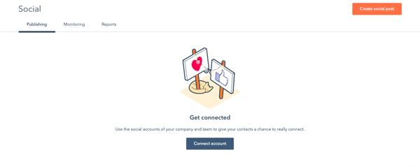 HubSpot Marketing Hub: Social