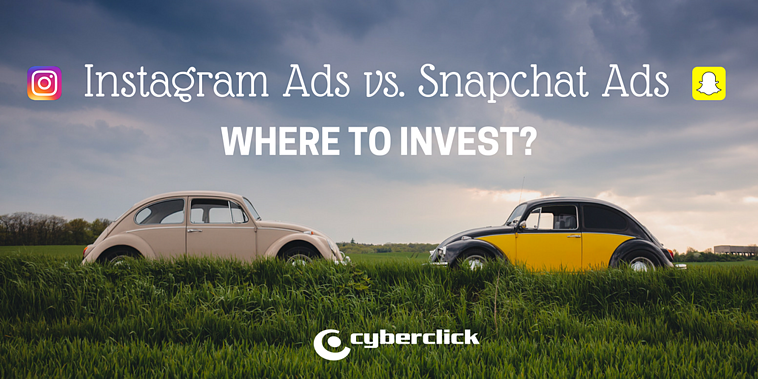 Snapchat vs. Instagram: Where to invest your digital marketing budget?
