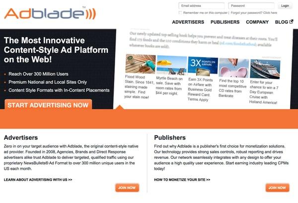 14 Best Native Advertising Tools - AdBlade