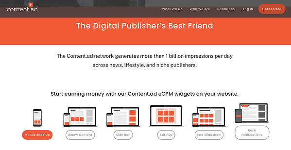 14 Best Native Advertising Tools - Content.Ad