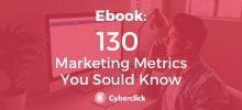 Ebook - 130 Marketing Metrics You Sould Know (EN)